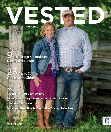VESTED Cover
